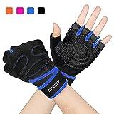 Trainingshandschuhe, Arteesol Fitness Handschuhe Damen Herren Gewichtheber Training Sport handschuhe für Grip Gewichtheben Training Fitness...