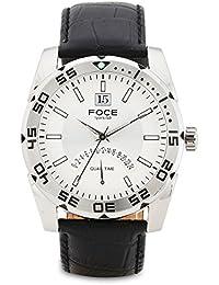 FOCE White Dial Analog Dual Time Men's & Boy's Sports Watch - F1101SGSN-WHITE