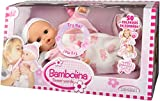 Dimian - Bambolina, muñeca que habla en español, color rosa y blanco (Claudio Reig BD310ES)