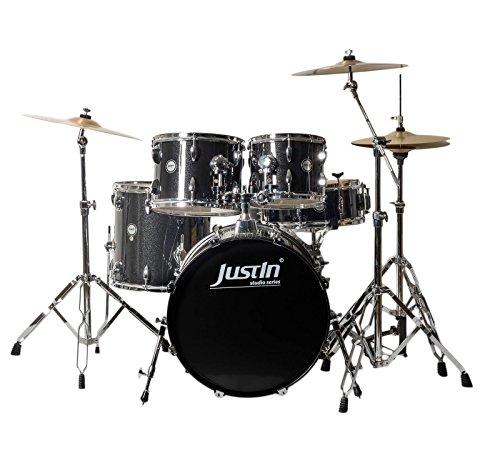 Studio Series 20 Drum Bundle Black Sparkle 20/10/12/14FT/14SN inkl. Becken & Hardware
