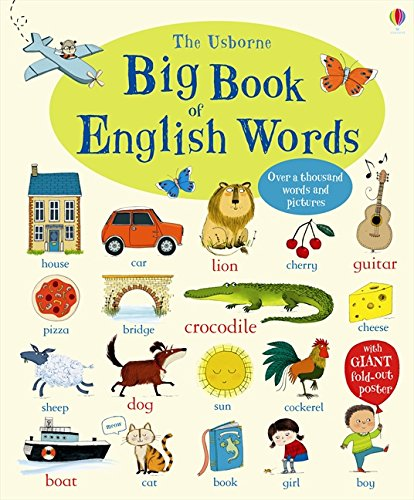 Big book of english words por Mairi Mackinnon