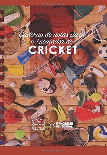 Caderno de notas para o Treinador de Cricket por Wanceulen Notebook