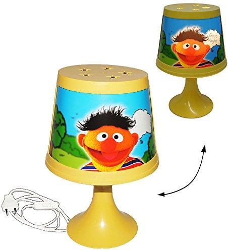 Unbekannt Ernie & Bert - Sesamstraße  - Tischlampe - magische Leuchte für Kinder - 29 cm hoch - Tischleuchte / Kinderzimmer - Jungen / Mädchen Blumen - Nachttischlam..