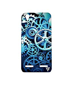 Vogueshell Clock Parts Pattern Printed Symmetry PRO Series Hard Back Case for Lenovo K5 Plus