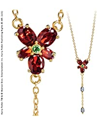 Hermione Granger Red Crystal Necklace. Harry Potter Noble Collection