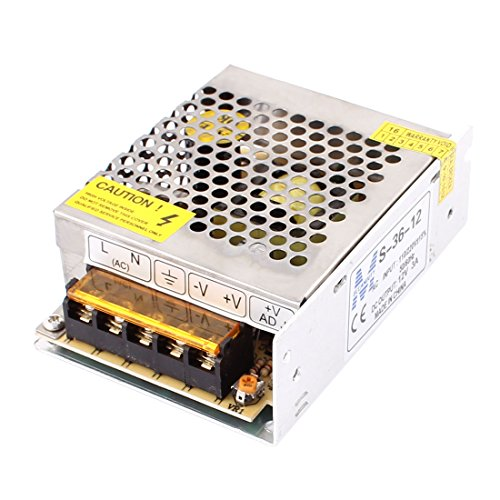 AC 200-240V DC 12 V 3 A LED regolato Alimentatore di corrente Driver Adattatore