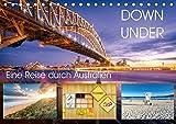 Down Under - Eine Reise durch Australien (Tischkalender 2018 DIN A5 quer): Von Alice Springs, vorbei am Ayers Rock nach Sydney (Monatskalender, 14 ... 01, 2016] Seidenberg Photography, Christian