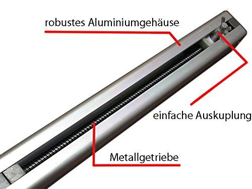 Automatischer Flügeltoröffner für Doppelflügeltore inkl. Lampe, Pforte Funktion