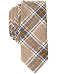 Original Penguin Men's INVERSION PLAID Accessory, -taupe, One Size