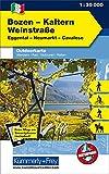 Italien Outdoorkarte 03 Bozen-Kaltern Weinstraße 1 : 35.000: Eggental, Neumarkt, Cavalese. Wanderwege, Radwanderwege, Nordic Walking, Skilanglauf, Skitouren (Kümmerly+Frey Outdoorkarten Italien) -