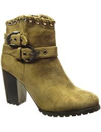 Verde Para Zapatos es Cowboy Botas Amazon Mujer xBPI7nq