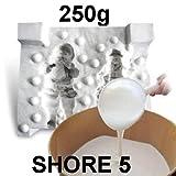 250 grammi Gomma di silicone liquida per colata durezza shore 5