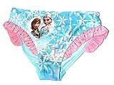 Disney Frozen Eiskönigin Mädchen Badehose Gr. 104-128 Bikinihose Badeanzug neu !, Größe:128, Farbe:türkis