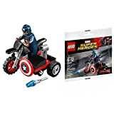 Lego 30447 Super Heroes Captain America's Motorcycle Polybag