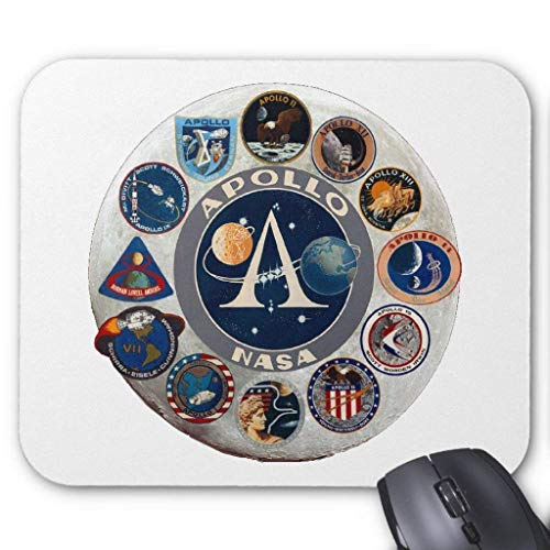 Wristband Project Apollo: The Composite Logo Mouse Pad Computer Accessories Anti-Friction 18X22 (X Project Halloween)