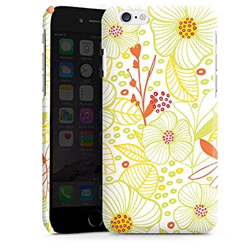 Apple iPhone 4 Housse Étui Silicone Coque Protection Fleur Été Printemps Cas Premium brillant