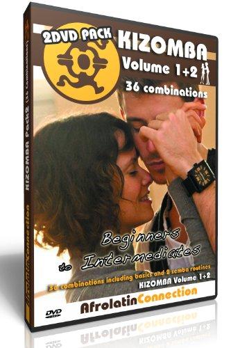 How to Kizomba Vol1+2 2DVD Pack - Improvers to advanced - 36 combinations (Kizomba)