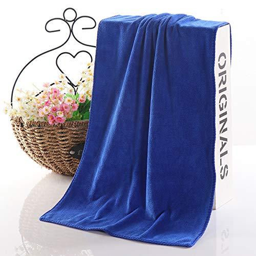 GBSHOP Duschtücher 10 handtücher großhandel angepasst Logo Friseur Balkon trockenes Haar handtücher Haushalt Starke Starke saugfähige handtücher, Treasure Blue Super Thick (10 stücke), 30x60 cm