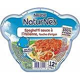 Nestlé Naturnes spaghetti bolognaise à l'origan assiette 230g dès 12 mois - ( Prix Unitaire ) - Envoi Rapide Et...
