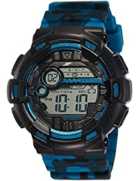 Sonata Fibre (SF) Digital Black Dial Men's Watch-NK77053PP01