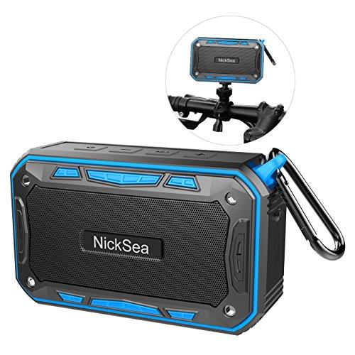 Altavoces Bluetooth Portatil Impermeable IP7 con Radio FM, NickSea Altavoz...