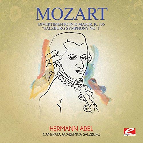 "Divertimento in D Major, K. 136 ""Salzburg Symphony No. 1"": II. Andante"