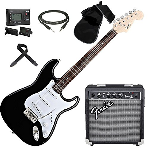fender-squier-stratocaster-bullet-sss-bk-kit-amplificatore-accessori-accordatore