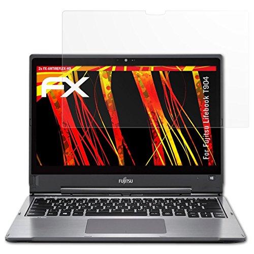 atFolix Schutzfolie kompatibel mit Fujitsu Lifebook T904 Bildschirmschutzfolie, HD-Entspiegelung FX Folie (2X)