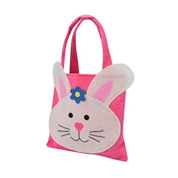Easter rabbit gift candy bag creative present home accessory bunny easter rabbit gift candy bag creative present home accessory bunny shape treat bags sweet decoration party bag wedding cookie gift tote pocket red negle Images