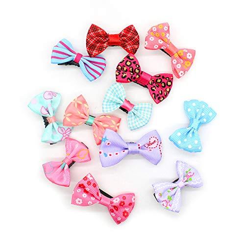 ni Grosgrain Ribbon Hair Bows Haarspangen für Ihr Baby, um eine schöne Prinzessin zu Sein, Mischfarbe ()