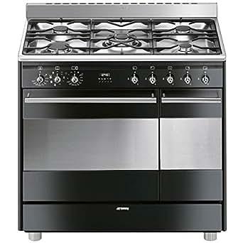 Smeg SCB92MN8 four et cuisinière - fours et cuisinières (Autonome, Grand, Electrique, Gaz, 50 - 260 °C, A)