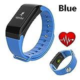 DROMATEC® Fitness tracker d'activité bluetooth cardiofrequencemetre oxygène du sang SpO2 pression sanguine wateproof distance sport fitness calories perdues smart bracelet homme femme