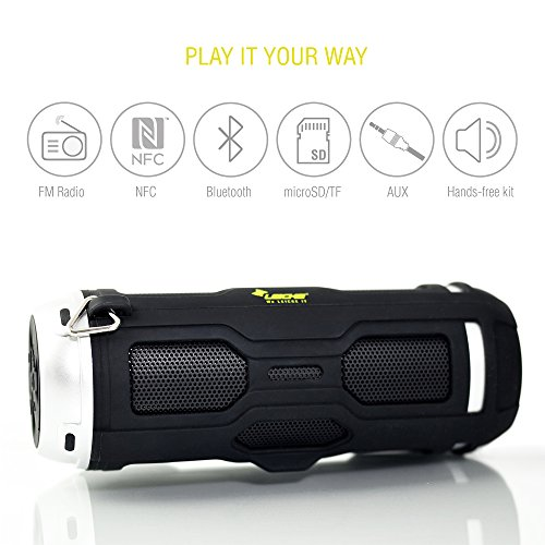 "Smart Outdoor Bluetooth Lautprecher ""DJ Roxxx Active"" für draußen, Fahrrad 
