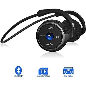 Bluetooth Kopfhörer Wireless Headset, FM Radio: Amazon.de