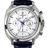 Junghans Herren-Armbanduhr XL Bogner Willy Chronoscope Chronograph Automatik Leder 027/4260.00 - 2