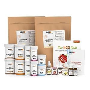 Rabatt: 60 Tage Komplettpaket, hCG Diät/Stoffwechselkur in SPITZENQUALITÄT mit 4 x Aromatropfen