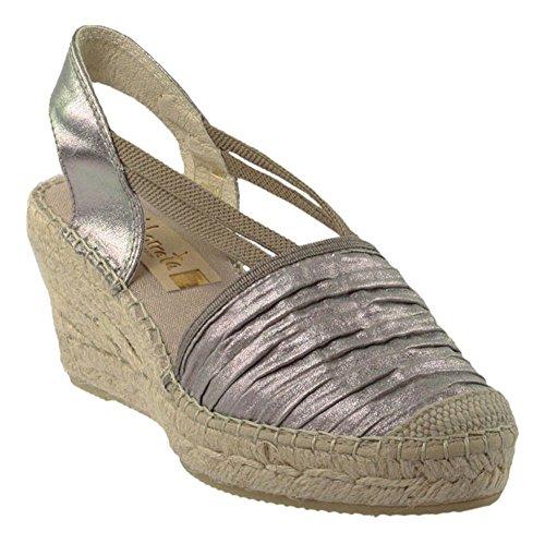 Vidorreta , Sandales pour femme gris gris Silber
