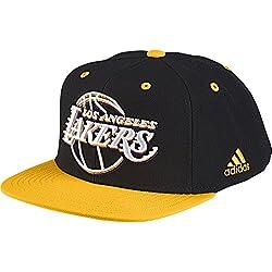 Adidas Cap Los Angeles Lakers Flat-Brim - Gorra para hombre