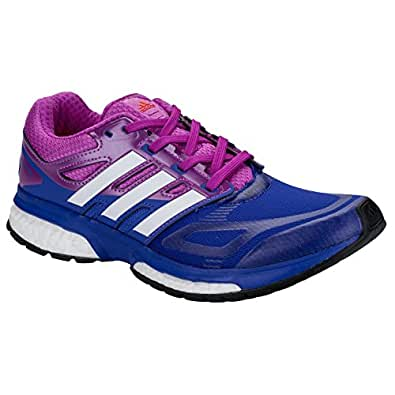adidas Womens Womens Response Boost Techfit Running Shoes