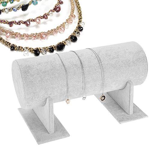 Display Storage Stand agrémenter Floral Jewelry Holder accessoire pour cheveux accessoire de démonstration blanc