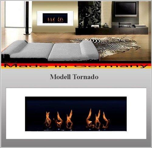 Bio Etanol Chimenea Modell Tornado blanco