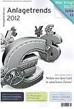 Anlagetrends 2012