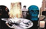 Talking Tables SKEL-SKULL Skeleton Crew Crâne Pièce maîtresse Carton Papier Multicolore 11,5 x 7 x 9,5 cm