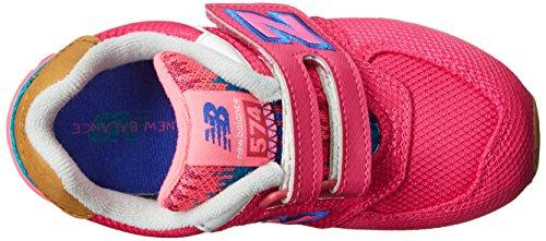 New Balance KG574 Expedition Running Shoe (Infant/Toddler) Pink/Blue