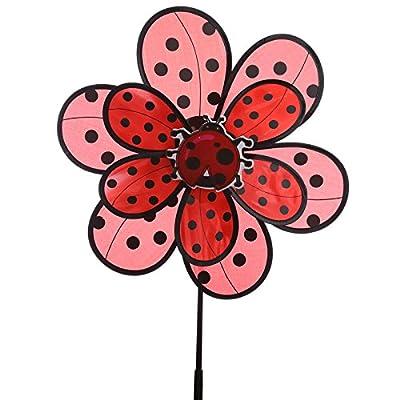 Fun Flower and Ladybird Windmill