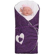 Corazones del recién nacido Muselina Saco de dormir