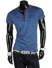 Tazzio t-shirt pour homme à manches courtes chemise de loisirs d'été