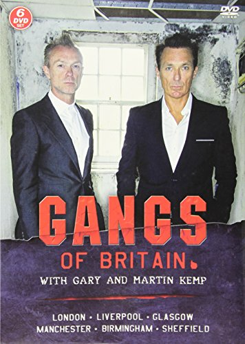 Gangs Of Britain With Gary And Martin Kemp - 6 Dvd Set [UK Import]