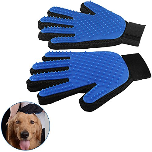 Yongding - Par guantes silicona función cepillo