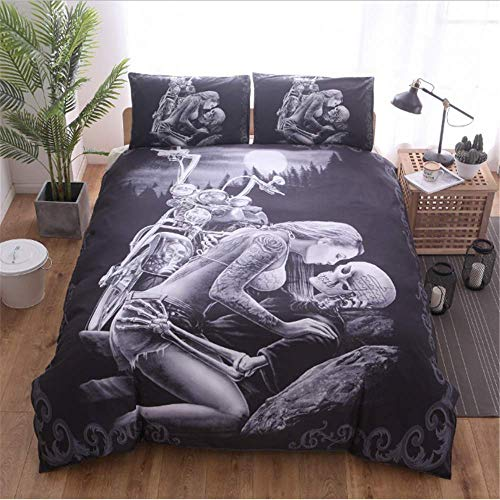 SHJIA Bettwäsche aus ägyptischer Baumwolle Set Queen King Size Style Spannbetttuch Set Pillow Shams A 200x200cm -
